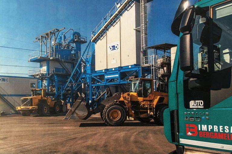 Impianto Benninghoven installato dalla PMB