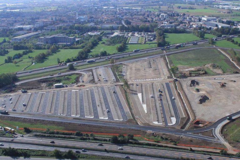 Parcheggio FlyPark presso l'aeroporto di Orio al Serio