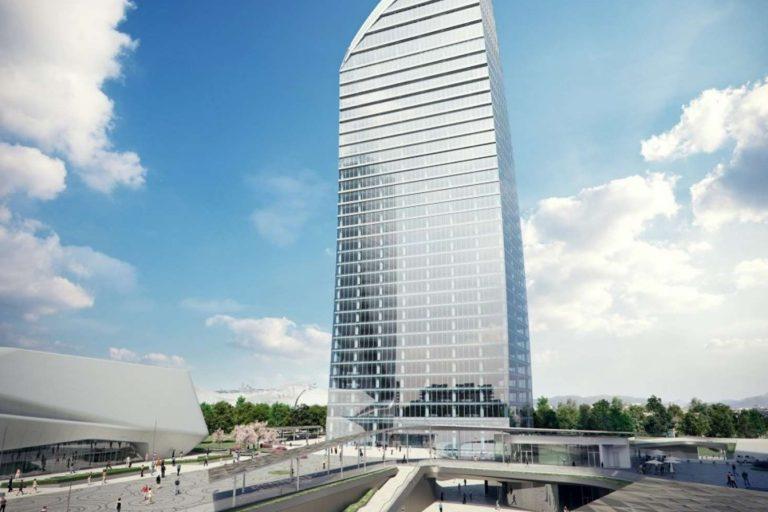 Torre Libeskind (CityLife – MI) inizio opere di viabilità